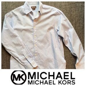 Michael Kors Slim-Fit Button-Down Shirt